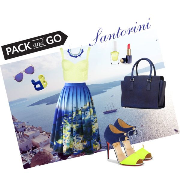 Santorini outfit - Summer time carry on