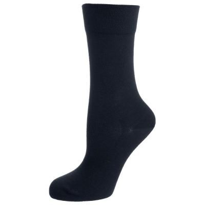 €14, Schwarze Socke von Falke. Online-Shop: Zalando. Klicken Sie hier für mehr Informationen: https://lookastic.com/women/shop_items/52280/redirect