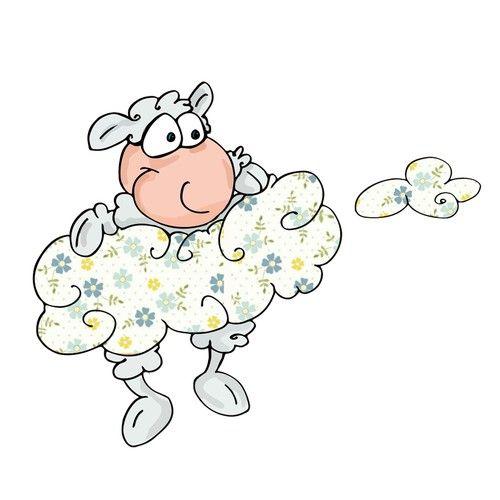 Design di Cute/Funny/Sassy Goat Character(s) 12 Sticker Pack di lacaramella