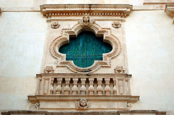 Scicli, detail of a balcony