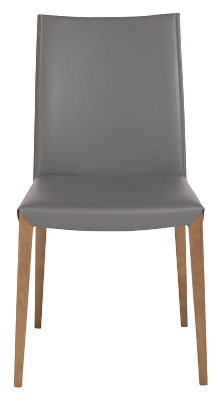 Fontaine Genuine Leather Upholstered Dining Chair with Price : $ 471.98