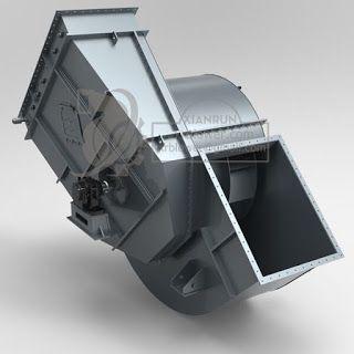 Xianrun Blower: Centrifugal Fan Maintenance---Casing and Inlet Box...
