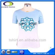 Women cotton gradient color garment dyed t-shirt   Best Buy follow this link http://shopingayo.space