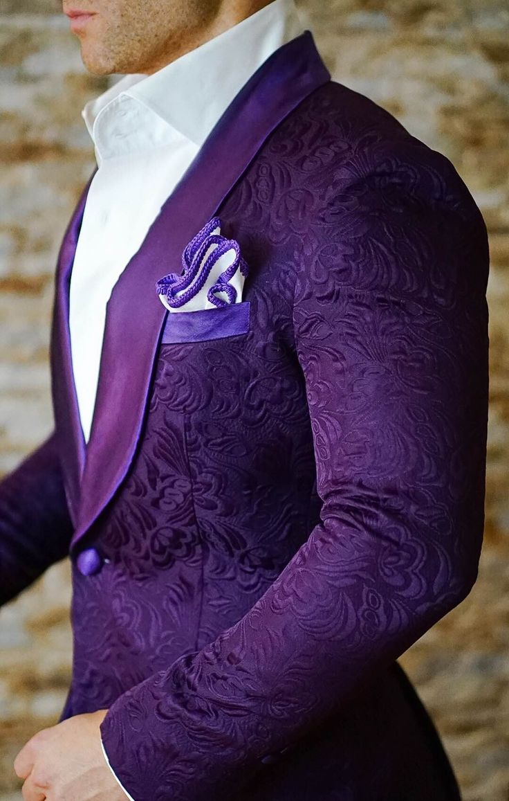 S by Sebastian Dinner Jacket Midnight Plum Paisley