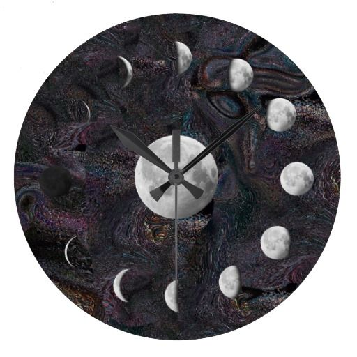 Lunar phases are the result of looking at the illuminated half of the Moon from different viewing geometries; they are not caused by the shadow of the Earth (this occurs only during a lunar eclipse).  Open edition fine art prints can be purchased here:   http://www.redbubble.com/people/waynedking/works/8257969-moon-phases-in-an-imagined-universe  http://fineartamerica.com/featured/moon-phases-in-an-imagined-universe-wayne-king.html