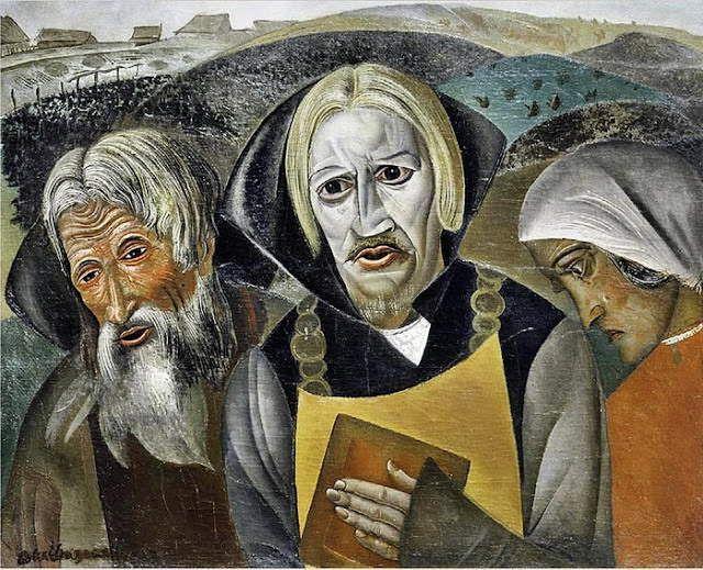 by Boris Grigoriev (1886, Rybinsk, near Moscow, Russia ~ 1939, Cagnes-sur-Mer, France) http://www.aurea-art.ru/news?show_id=446