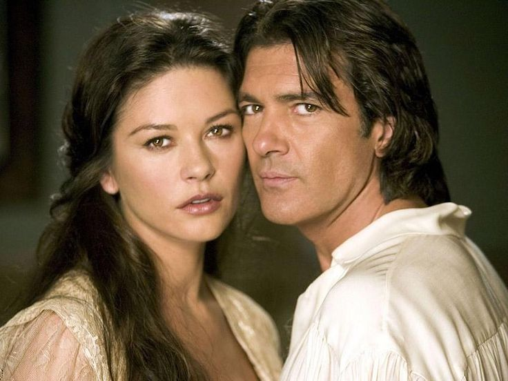 Catherine Zeta-Jones and Antonio Banderas for The Mask of Zorro directed by Martin Campbell, 1998