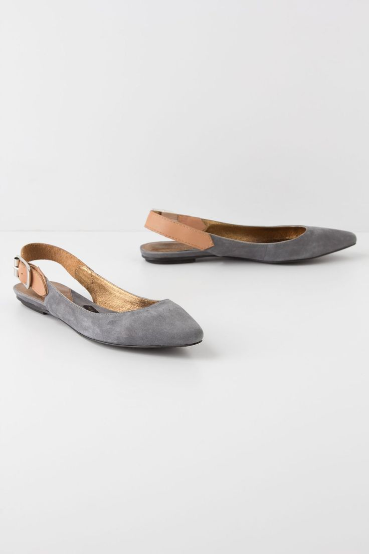 Slingback Skimmers / Pied Juste