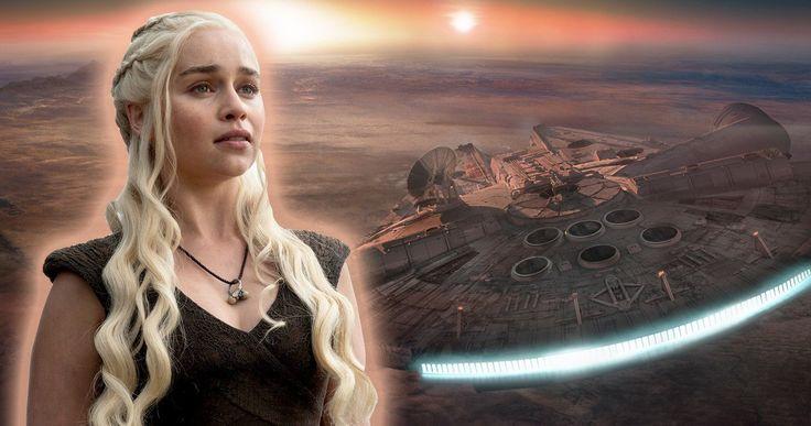 Emilia Clarke Calls Han Solo More Secretive Than Game of Thrones -- Emilia Clarke states that Alden Ehrenreich is magnificent and that the Han Solo spin-off is even more secretive than Game of Thrones. -- http://movieweb.com/han-solo-star-wars-secrets-emilia-clarke/