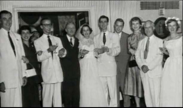 Fred Rogers And Joanne Wedding 1952 Fred Rogers Fred Rogers