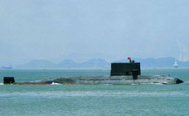 People's Liberation Army's Navy (PLAN) Type 039A/B Yuan-class submarine.
