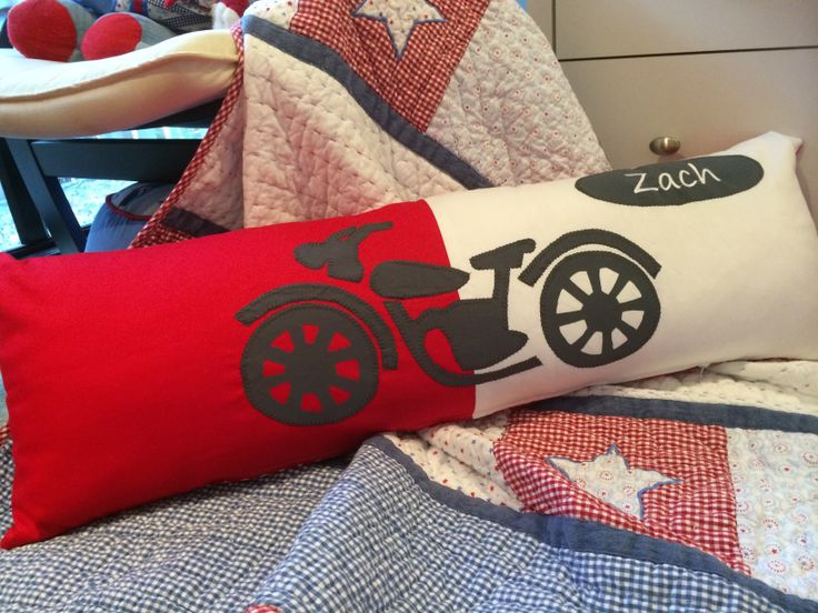 Single bed boys bolster cushion