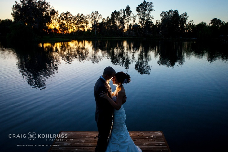 Mary & James wedding photography at Wolf Lakes Park in Sanger