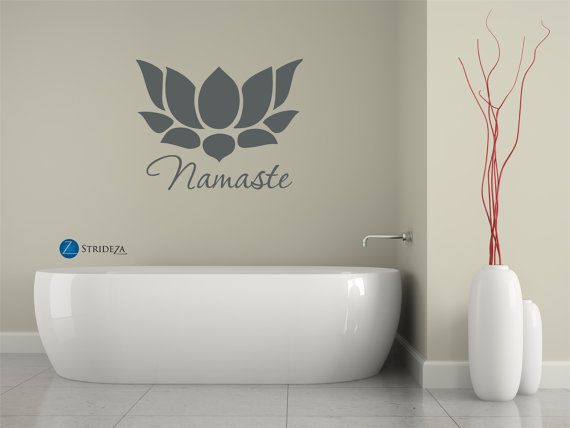 Namaste sign namaste art namaste decor namaste decal