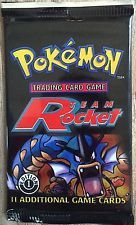 Pokemon Team Rocket 1st Edition Booster Pack Mint Rare Sealed