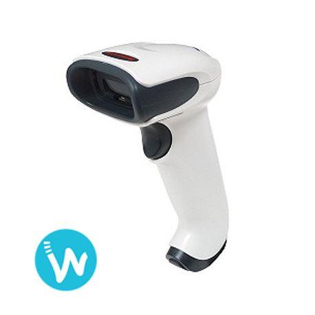 Le lecteur laser Voyager® 1250g d'Honeywell est simple à installer et offre une lecture performante des codes à barres linéaires | Envoi rapide sur Waapos.com