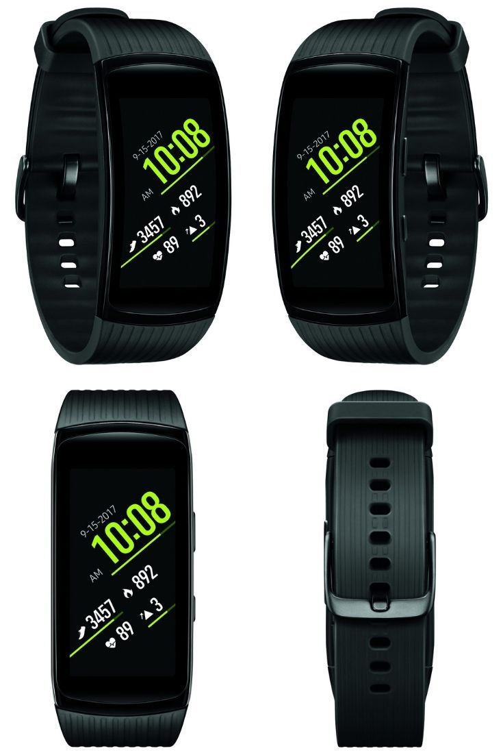 Keep Track Of All Your Fitness Data As You Maintain Or Work Toward An Activity Filled Lifestyle With The Samsung Gear Fit2 Pro This Sl Fitness Samsung Gear Fit 2 Flat Belly