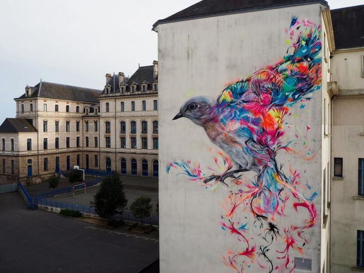 Street Art Utopia » We declare the world as our canvas » Street Art by L7m – In Vannes, France
