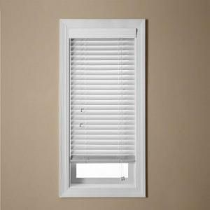 living room windows x3 ez blinds white faux wood blind 2 in slats with 325