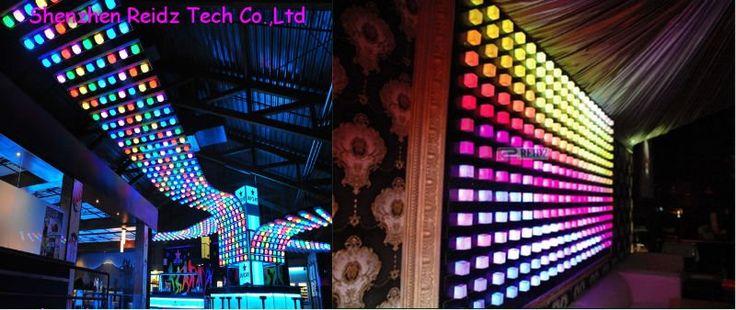 china ebay magic video effect led video wall club lighting