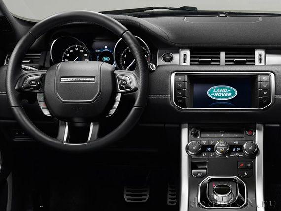 Интерьер Рендж Ровер Эвок 2016 / Range Rover Evoque 2016