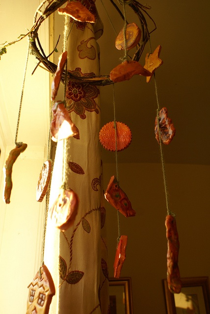 1000 images about sounds of summer on pinterest copper for Colored porcelain koi fish wind chime