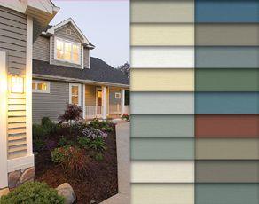 Variform Vinyl Siding Colors Vinyl Siding Colors Siding