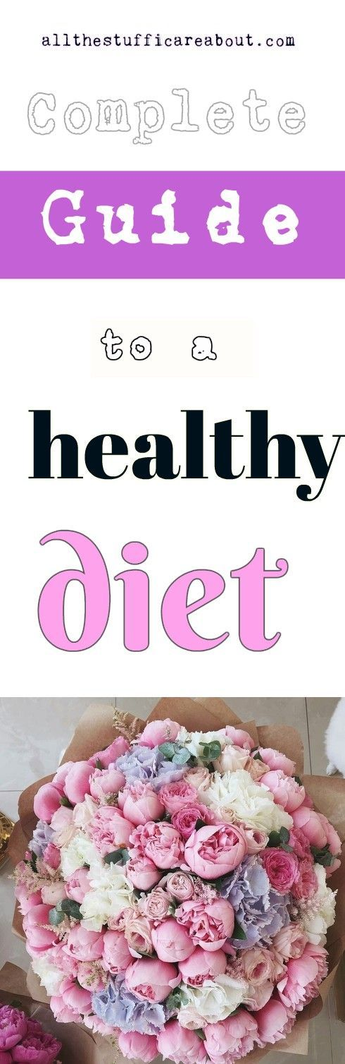Complete guide to a healthy diet. Water, Fiber, Protein, Fats, Carbohydrates, Vitamines and minerales