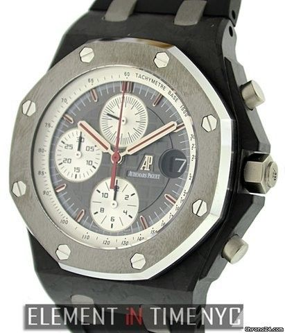 Audemars Piguet Royal Oak Offshore Jarno Trulli Chronograph Limited Edition Reference #: 26202AU.OO.