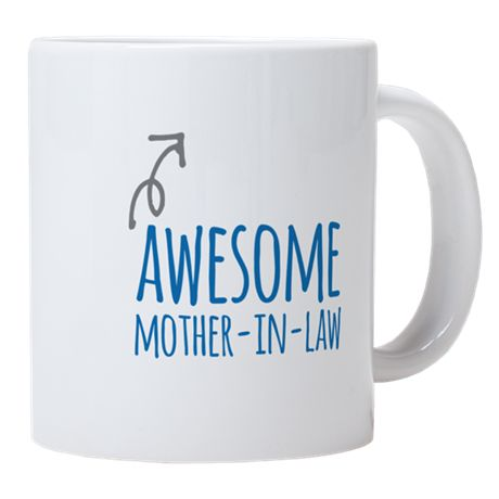 Awesome Mother-In-Law Ceramic Coffee Mug