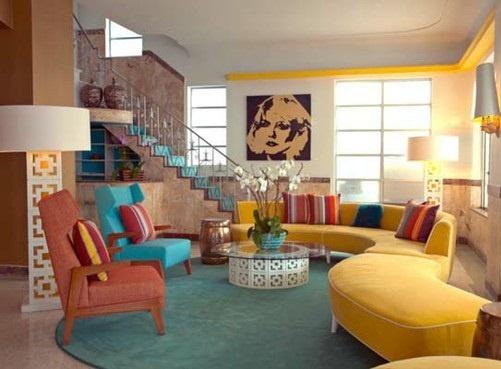 28 best retro decor images on pinterest vintage decor for Vintage hotel decor