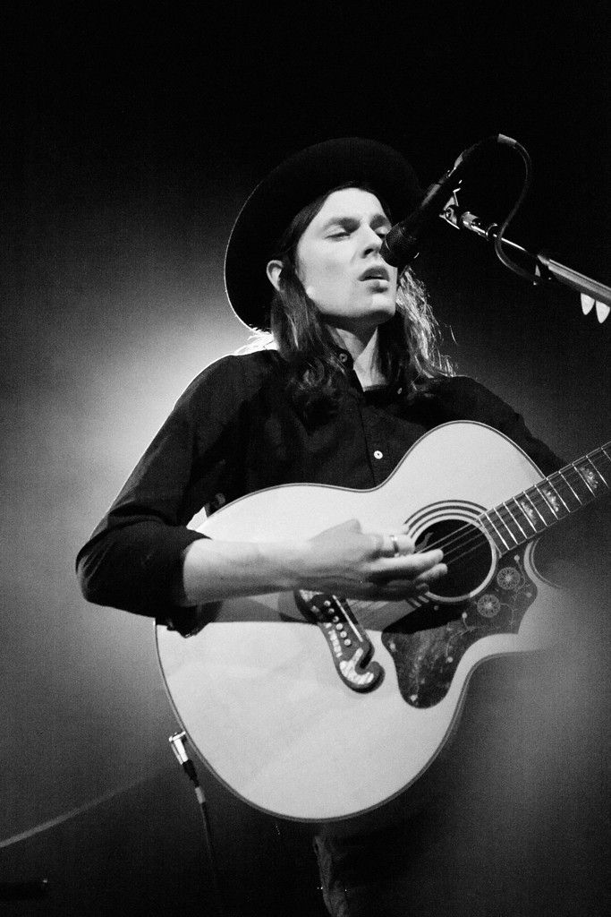 James Bay performing in New York