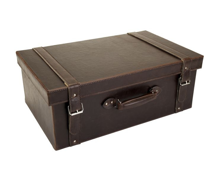 This faux leather suitcase is a stylish but practical storage solution – ideal for officeware, toys or bedlinen. Priced at £25