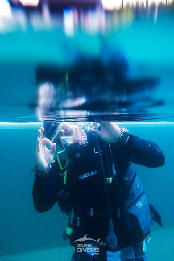 Master instructor #Sacha Ulmer #Koh Chang, Thailand #The Emerald Cove #Dolphin Divers