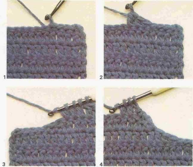 Decote redondo no crochê - Curso de Trico e Croche Alienstore