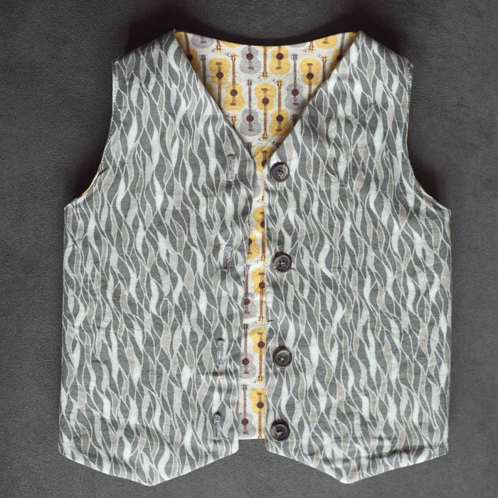 sewing instructions for reversible vest