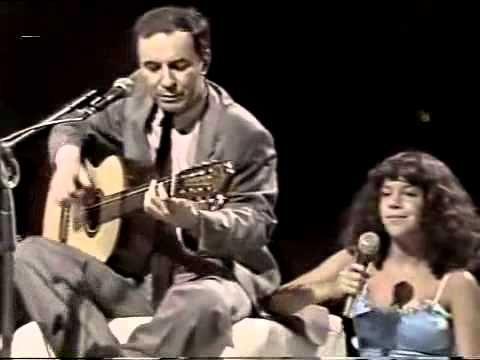 Chega de Saudade João Gilberto e Bebel Gilberto. Beautiful father/daughter synergy