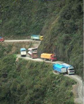 Death Road, Bolivia