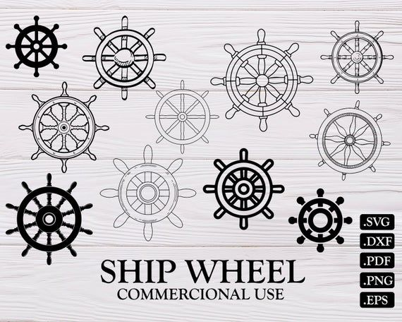Ship Wheel Svg Ships Wheel Svg Ship Wheel Pirate Svg Ship Boat Svg Ship Wheel Clipart Svg Fil Ship Wheel Star Clipart German Shepherd Art