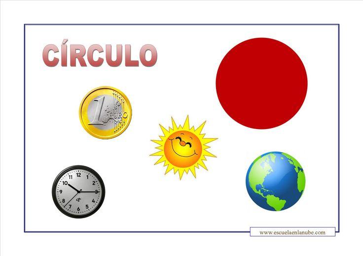 el circulo figura geometrica para niños - Buscar con Google