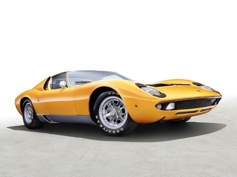 Exceptional Sketchbook Historic Cars Pictures: 1966 Italia   Lamborghini Miura P 400    Designer M. Gallery