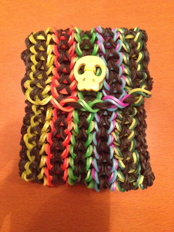 Mini Purse  Tutorial by Craft LifeRainbow Loom Mini Purse Craft Life