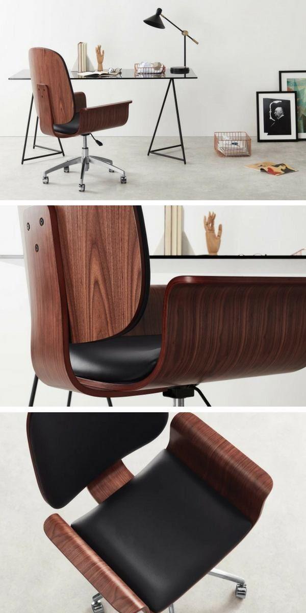 Fauteuil De Bureau Design Et Confortable Aac100 Pietement A Roulettes Fauteuil Bureau Design Bureau Design Chaise De Bureau Design
