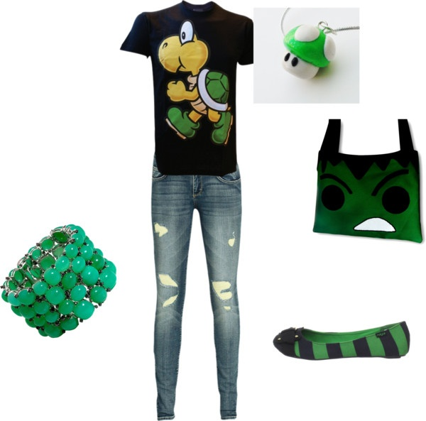 """a cute nerd outfit"" by rebeccaboo55 on Polyvore"
