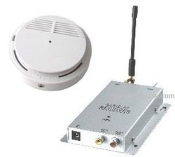 Wireless Smoke Detector Hidden Camera - See the Worlds Best WiFi Hidden Cameras at http://www.spygearco.com/secureshothdliveview-hiddencameras.php
