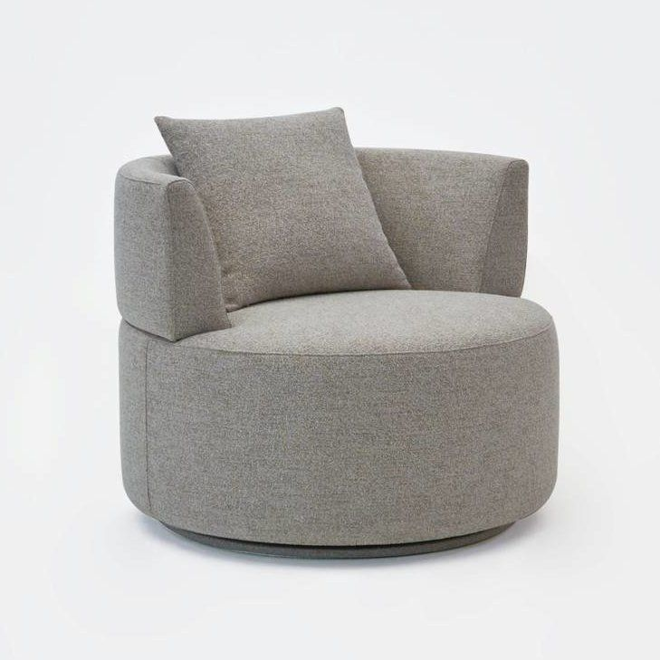 Modern Barrel Chair Nice Home Decoration Interior