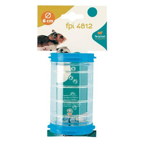 "Ferplast Straight Space Clear 11cm or 21cm Tunnel Hamster Tube 4"" Ferplast Pet Products http://www.amazon.co.uk/dp/B001N02IMO/ref=cm_sw_r_pi_dp_nB53vb1DKA4AZ"