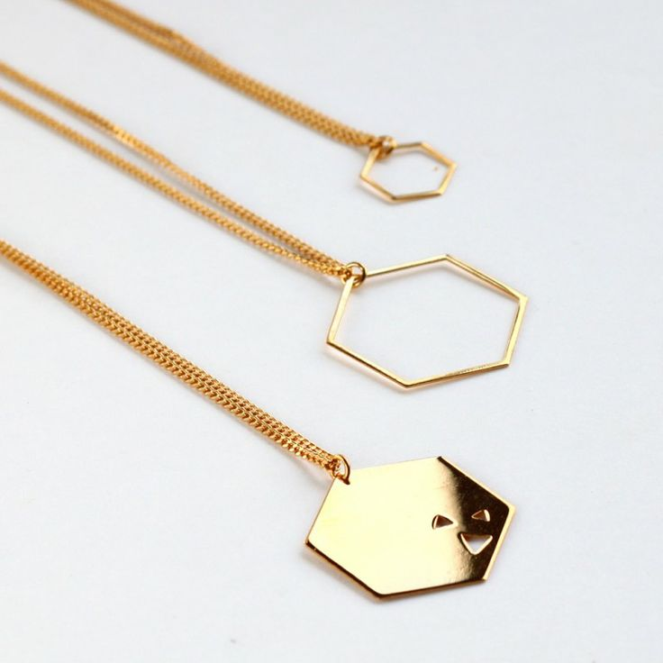 Sautoir LUDWIG or gold or fin necklace