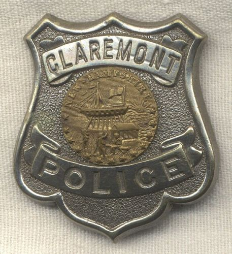 Early-1900-Claremont-New-Hampshire-Police-Badge