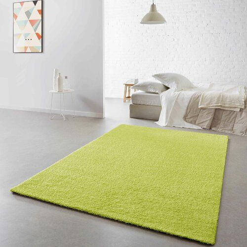 Somoa Sahg Green Rug 17 Stories Rug Size Rectangular 100 X 150cm In 2020 Rugs Cool Rugs White Rug